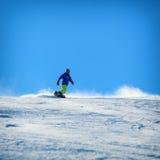 Wintersnowboardingtätigkeit Lizenzfreie Stockfotografie