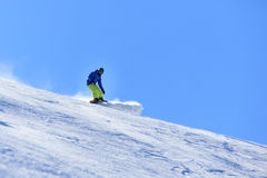 Wintersnowboardingtätigkeit Stockbilder