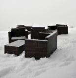 Wintersofa Stockbilder