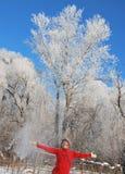 Winterspaß Stockfoto