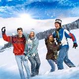 Winterspaß 21 Lizenzfreie Stockbilder