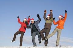 Winterspiele stockfotografie