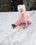 Winterspiele Stockfotos