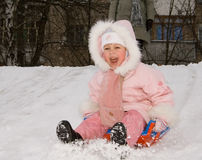 Winterspiele Lizenzfreie Stockbilder