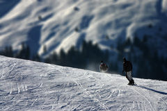 wintersport маштаба разниц весьма Стоковое Фото