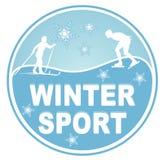 Wintersport lizenzfreie abbildung