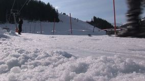 Wintersport in Austria archivi video