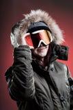 Wintersport-Frau Lizenzfreies Stockbild