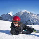 Wintersport fun Royalty Free Stock Photography