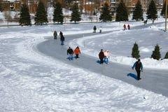 Wintersporten Stock Afbeeldingen