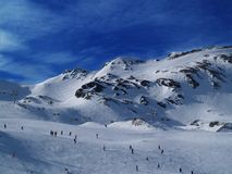 Wintersporten Stock Fotografie
