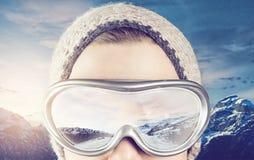 Wintersports royalty-vrije stock foto's
