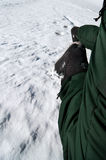 Wintersteigen Stockfotos
