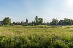 Winterswijk увиденное от Scholtenbrug Стоковая Фотография RF