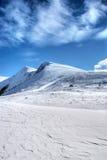 Winterszene von Makedonien Stockfotografie