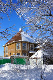 Wintertag, Haus Stockbilder