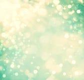 Wintertalings abstracte lichte achtergrond Stock Afbeeldingen