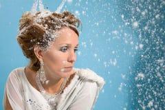 Wintertiefstand Stockfotos