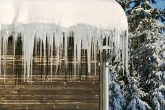 Wintertijd stock foto