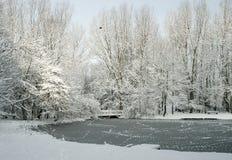 Wintertijd Stock Afbeeldingen