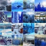 Wintertijd Royalty-vrije Stock Foto's