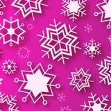 Wintertime - πορφυρό χειμερινό σχέδιο Απεικόνιση αποθεμάτων