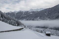 Wintertime στο carinthia στην Αυστρία Στοκ φωτογραφίες με δικαίωμα ελεύθερης χρήσης