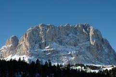 wintertime доломитов Стоковые Изображения