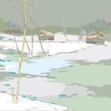 Wintertime Стоковое Изображение