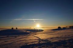 wintertime Royaltyfri Fotografi