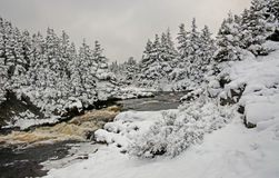 Wintertime In Flatrock Stock Photo