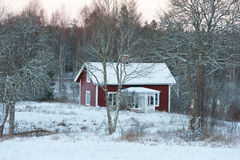 Wintertime in Sweden Royalty Free Stock Photography