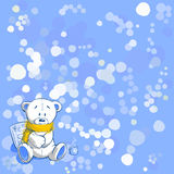 Wintertime, vector illustration. Wintertime, cold day, vector illustration Stock Image