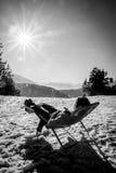 Winterurlaub Stockfotografie