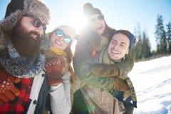 Winterurlaub lizenzfreie stockfotografie