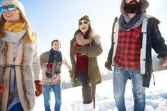 Winterurlaub lizenzfreie stockbilder