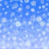 Winterurlaub-heller Hintergrund lizenzfreie stockfotografie