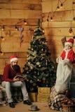 Winterurlaub und Ferien lizenzfreies stockbild