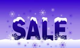 Winterverkauf Stockfoto