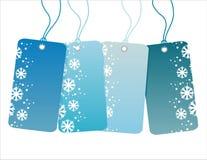 Winterverkaufsmarken stock abbildung