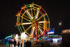 Winterville - A Christmas Village in Victoria Park stock image