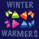 Winterwärmer Stockfotos