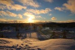 Winterwonder Royaltyfri Fotografi