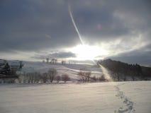 winterwonderland Royaltyfri Bild