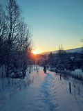 winterwonderland στοκ εικόνες με δικαίωμα ελεύθερης χρήσης