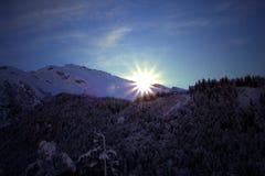 winterwonderland Στοκ Εικόνες