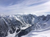 Winterwonderland. Austria Tirol fun Friends Royalty Free Stock Image
