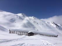 Winterwonderland. Austria Tirol fun Friends Stock Image