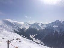 Winterwonderland. Austria Tirol fun Friends Stock Photos