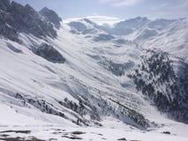 Winterwonderland. Austria Tirol fun Friends Royalty Free Stock Images
